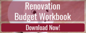 Renovation Budget Workbook Download
