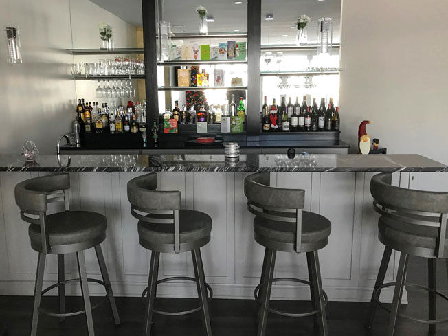 Choice Premier - Driftwood Bar - Photo by Warehouse Guys
