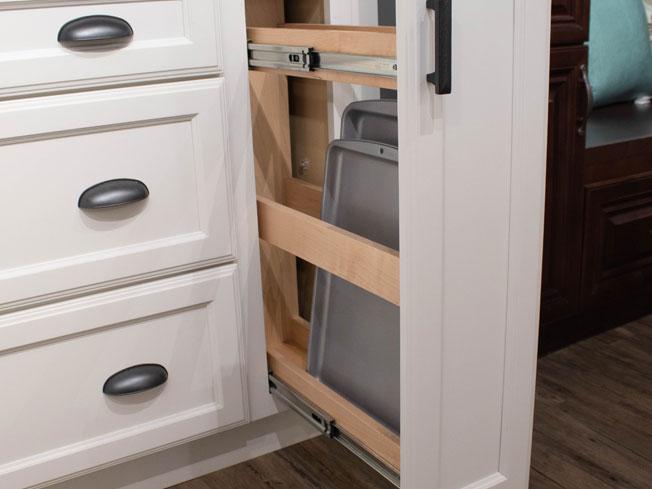 Storage and Organization Base Pantry Pullout