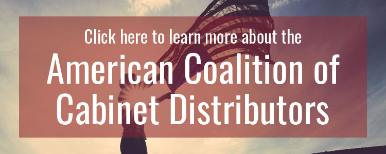 American Coalition of Cabinet Distributors Button