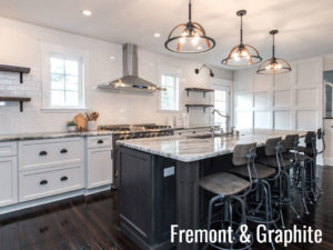 Review of Kitchen Island Trends Fremont and Graphite