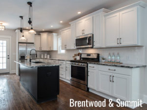 Review of Kitchen Island Trends Brentwood and Summit