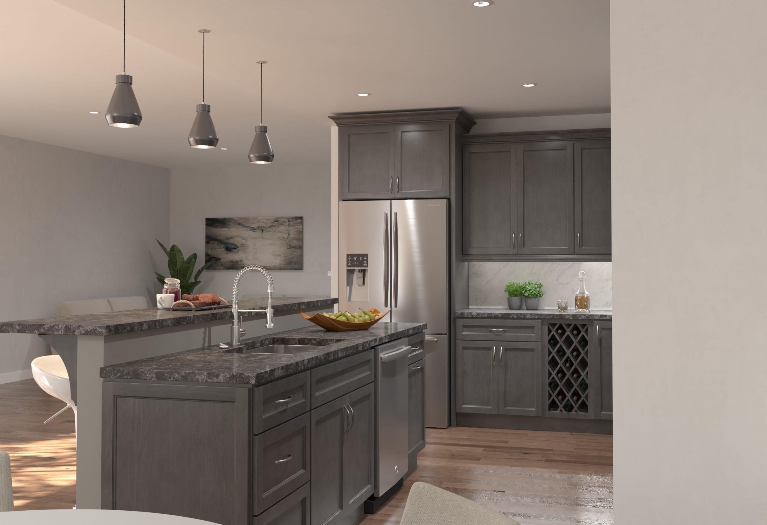 Graphite-Kitchen-Cabinet