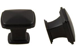 square-knob-matte-black