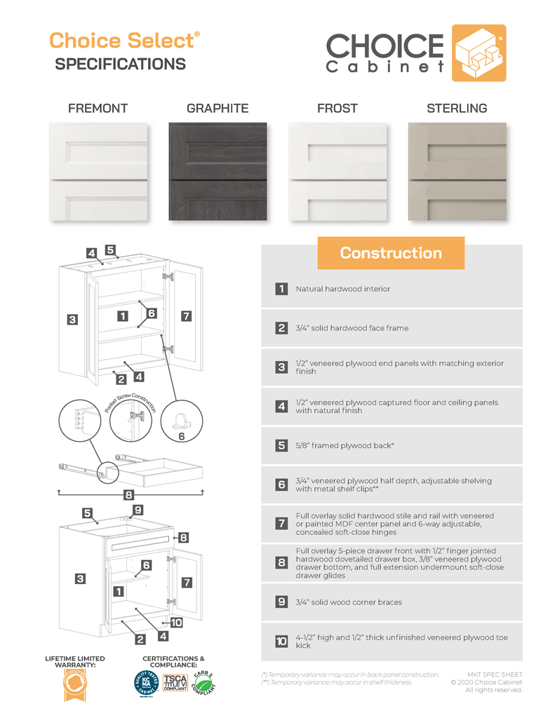 Choice-Cabinet-Specification-Sheet-Cover