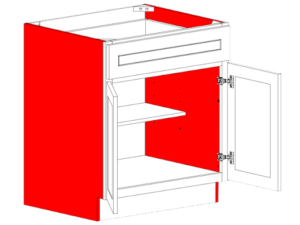 end panels cabinets