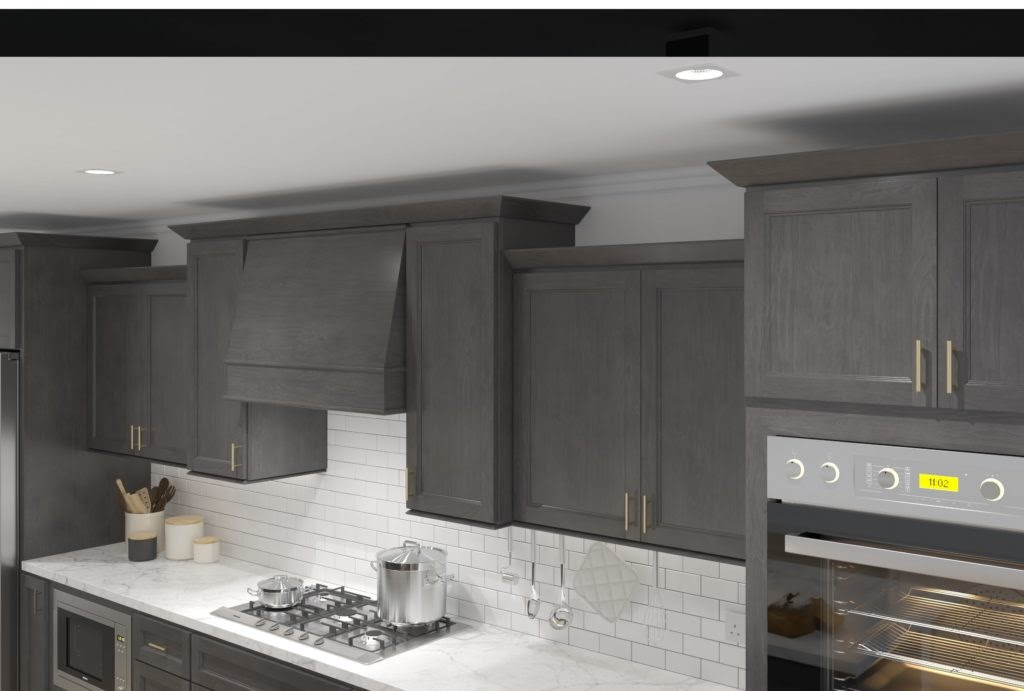 Shaker-style cabinets
