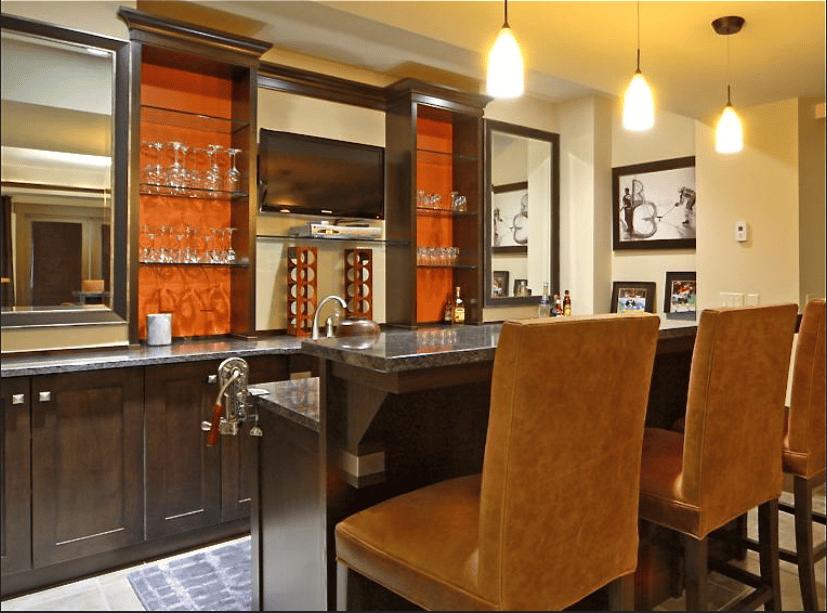 home bar cabinet
