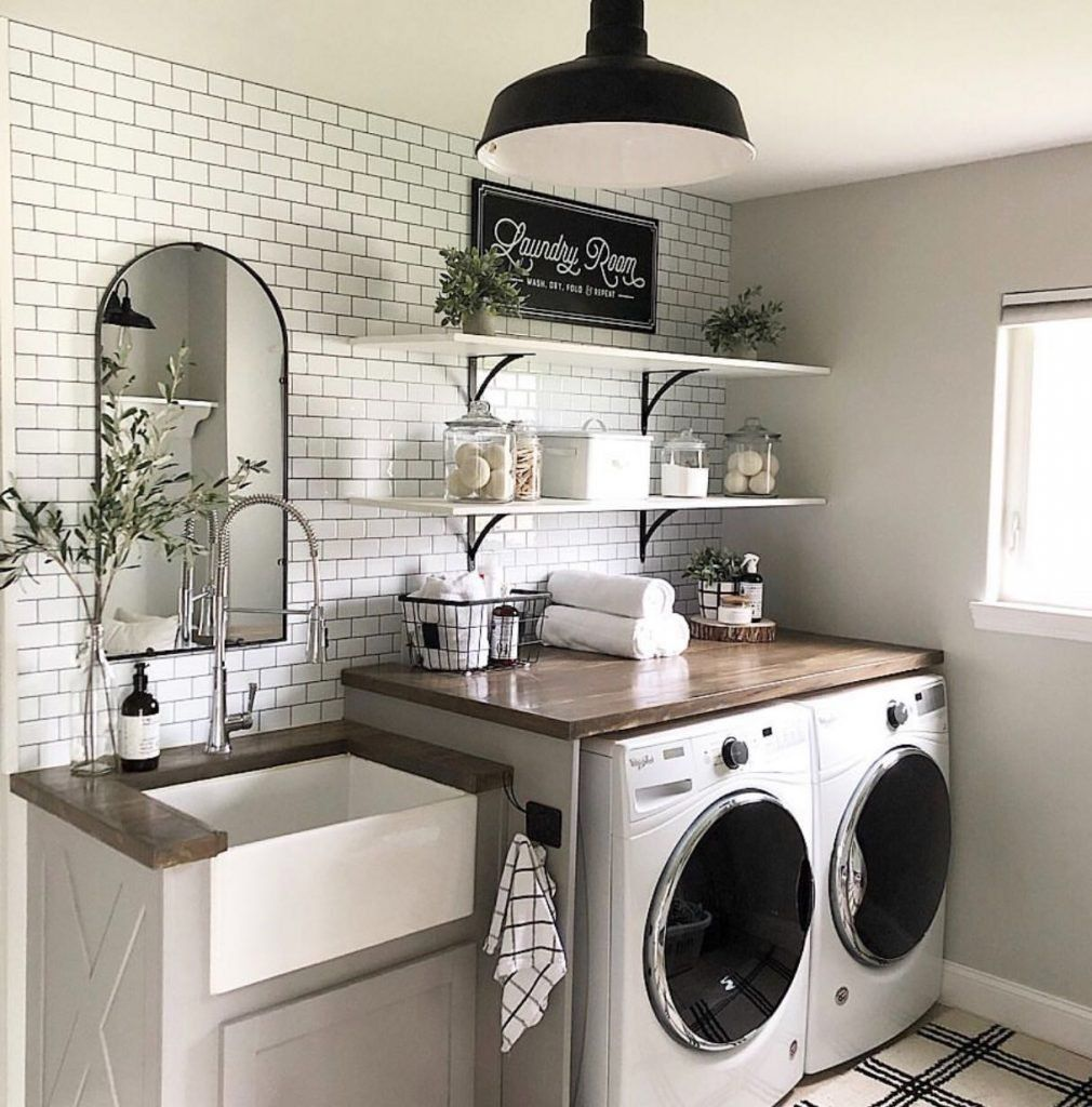 Brilliant Laundry Room Ideas You Should Try