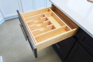 wooden dividers for kitchen storage