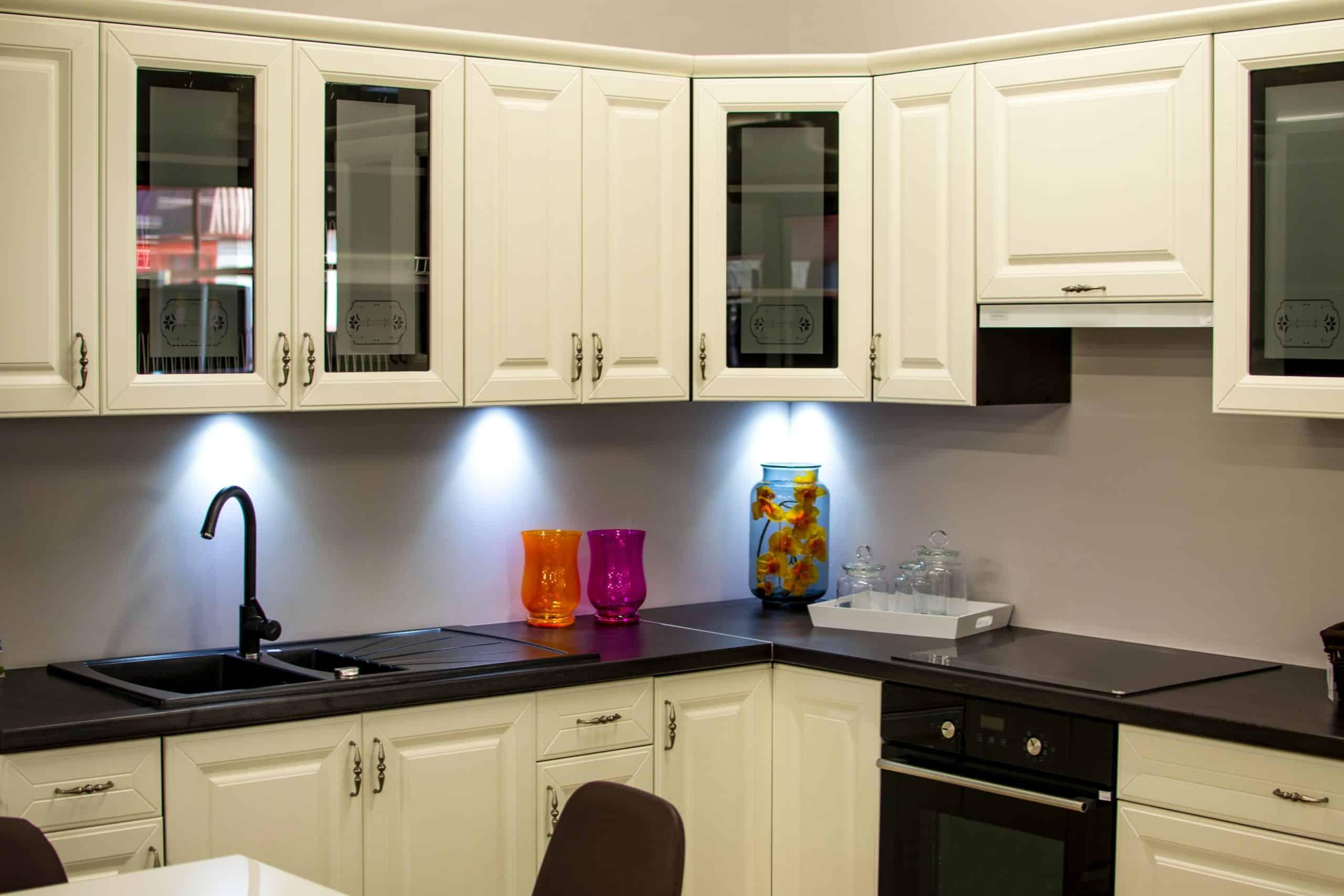 white under cabinet puck lights